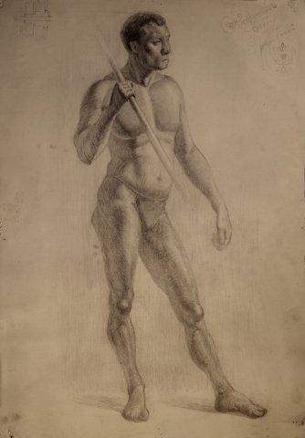 рисунки карандашом голые