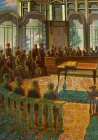 "Fragment of the painting ""Fedor Plevako in the court debate of the jury\"""