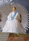"Inna Churikova as Queen of Great Britain Elizabeth II. Fragment of the painting ""Inna Churikova. Ascent\""."