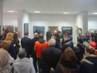 "Opening of the anniversary Regional art exhibition ""Fall — 2015\"" devoted to the 75 anniversary of the Ryazan organization of the Union of artists of Russia. October 23, 2015. Showroom UAR, Ryazan."