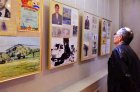 "Chuvash national museum. Opening of an exhibition ""Kyshtym and Chernobyl: tragedy, feat, prevention\"". Russia, Cheboksary, on April 26, 2016."